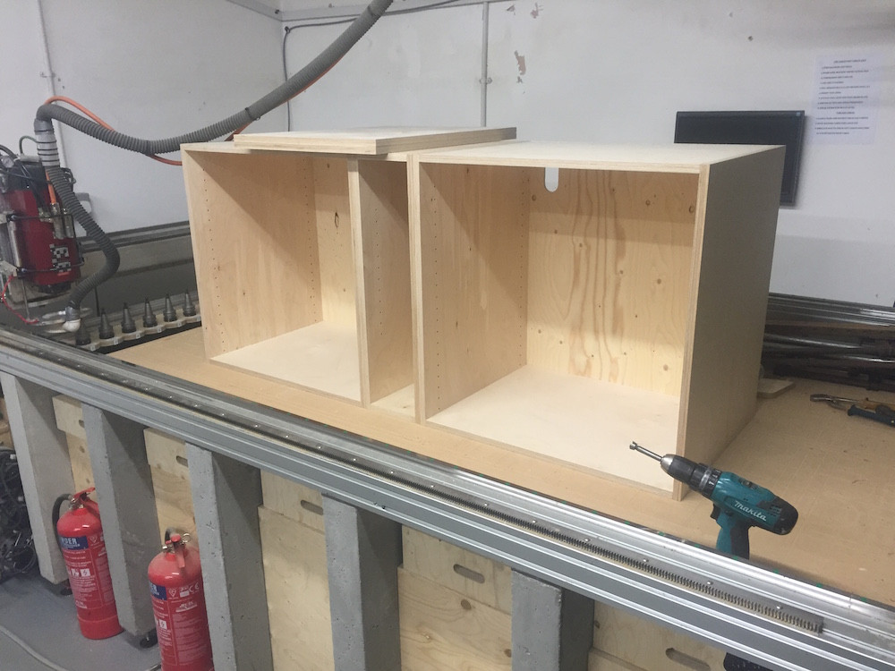 Plywood kitchen cabinets made to order