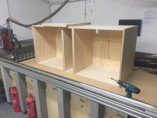 Bespoke Kitchen Cabinets CNC cutting
