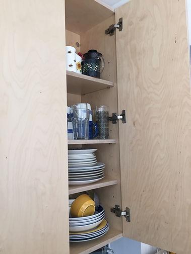 Birch Plywood Kitchen Unit