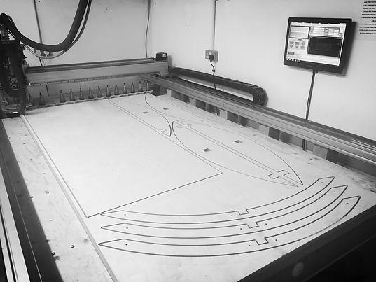 CNC cutting service in the UK