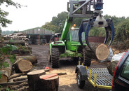 Locally sourced timber