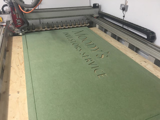 CNC router cutting signs