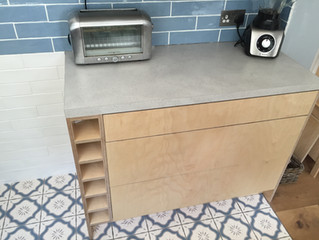 Save time installing with our Birch Plywood Kitchen Units