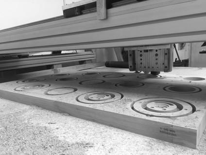 cnc cutting fabrication Spotty Obe & Co