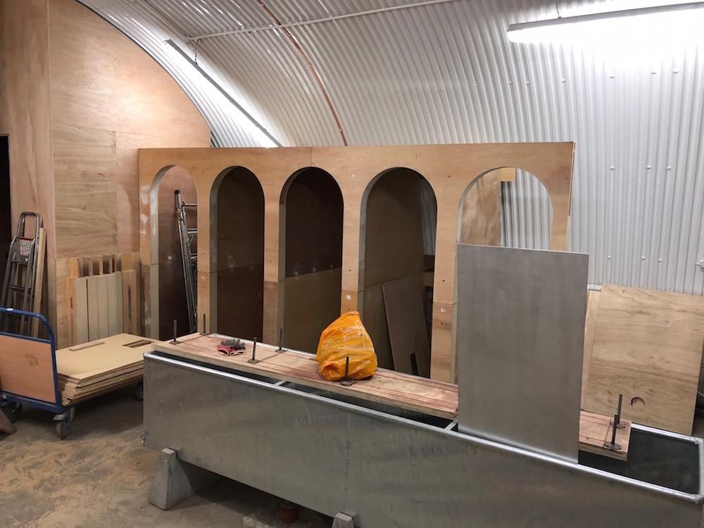 Washroom Arches