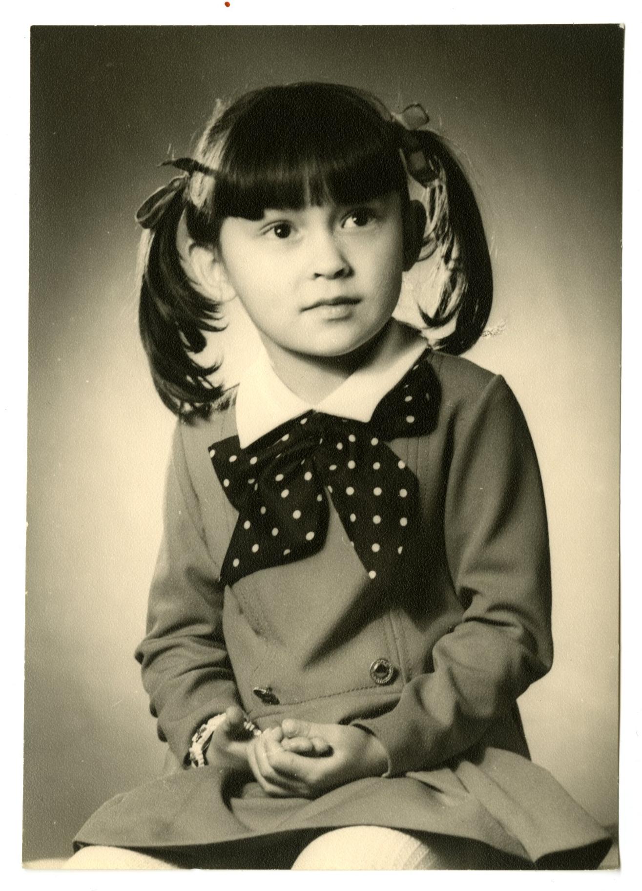 Nathalie at 5 years old