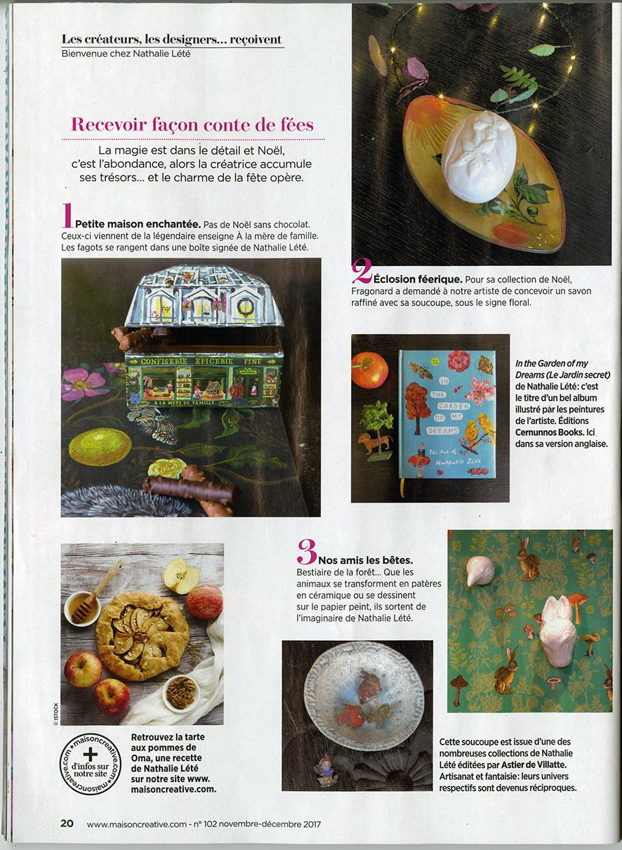 Marie Claire Maison Jardin Recup press | nathalie-lete