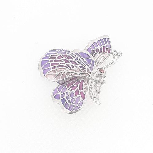 enamel butterfly