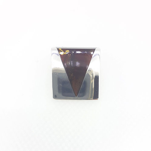 triangle silver thing