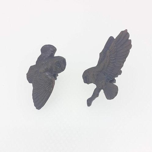 owl cufflinks