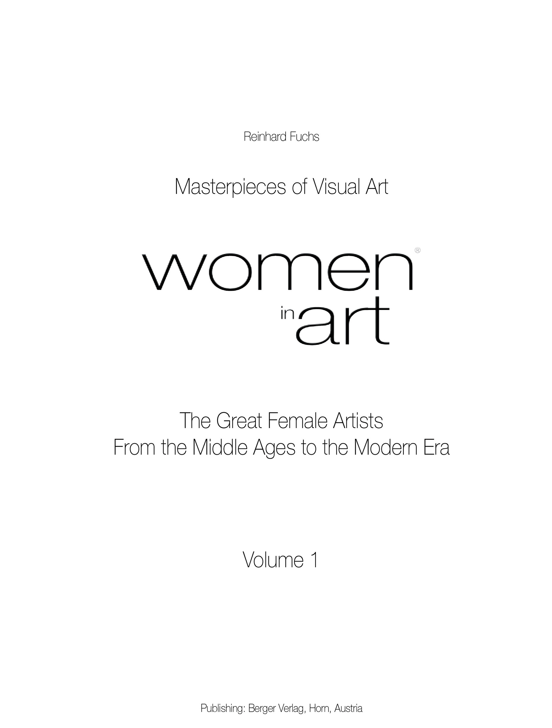 Women in art livre