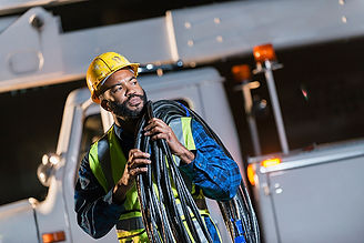 African-American-man-with-cherry-picker-