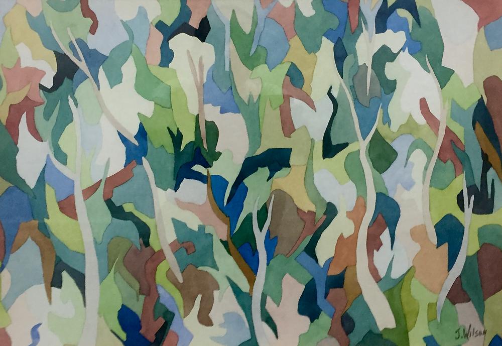 Jack Wilson, Jungle, water colour