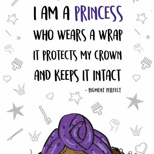 A5 Print - Wrap Princess