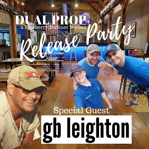 PITCHER Sponsor - Dual Prop Release Party Featuring GB Leighton