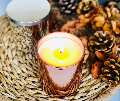 Metallic Tumbler Candle
