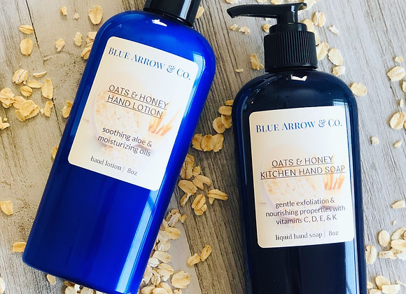 Oats & Honey Hand Soap & Lotion