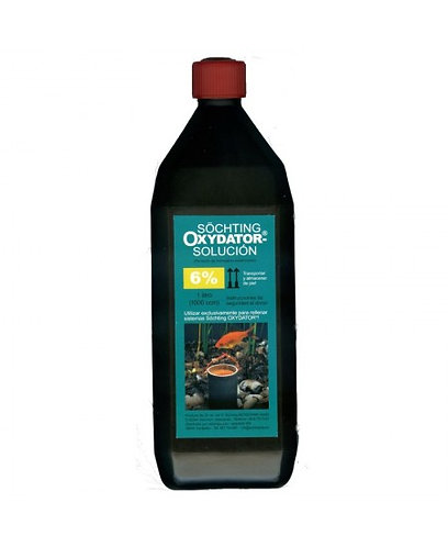 Solución de recambio oxydator 6% - 500 cc