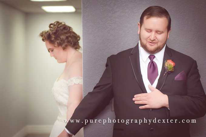 Mr. & Mrs. Vallender | Ypsilanti, MI | Pure Photography by Laura