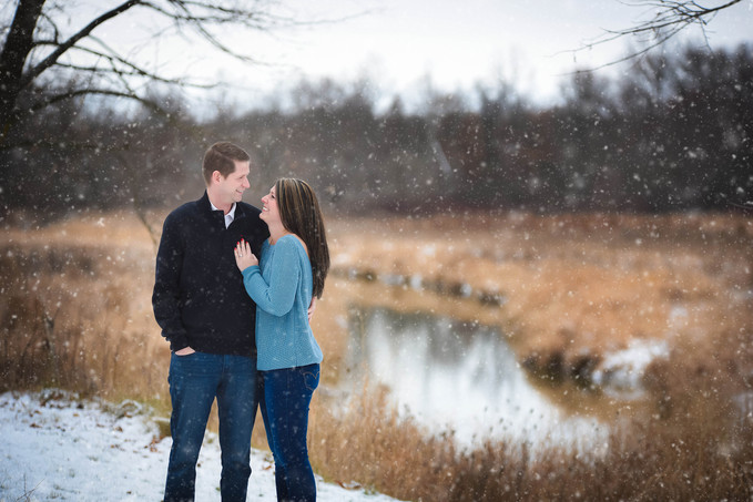 Phil & Alexis | Winter Engagement