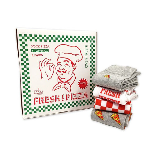 Pizza Socks Gifts set