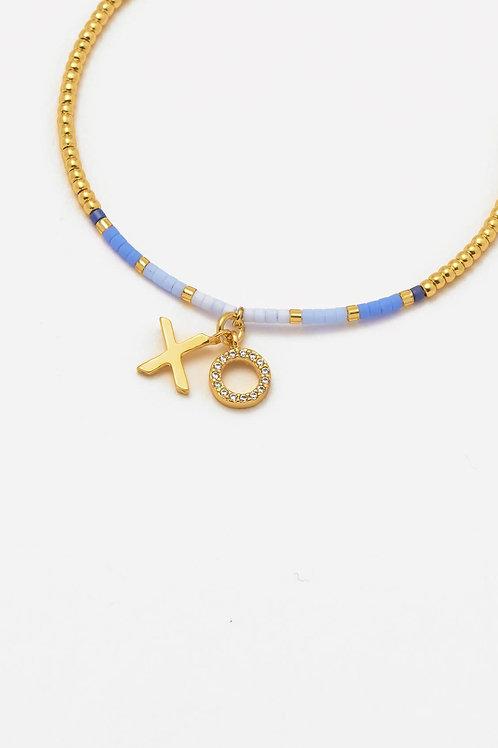 Gold Plated XO Bracelet