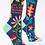 Thumbnail: I'm A Delicate Fucking Flower Womens Crew Socks