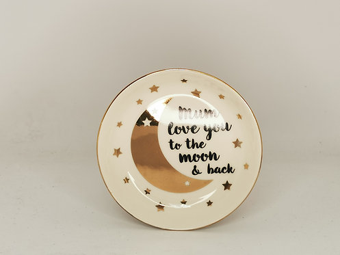 Mum Love You To The Moon & Back Trinket Dish