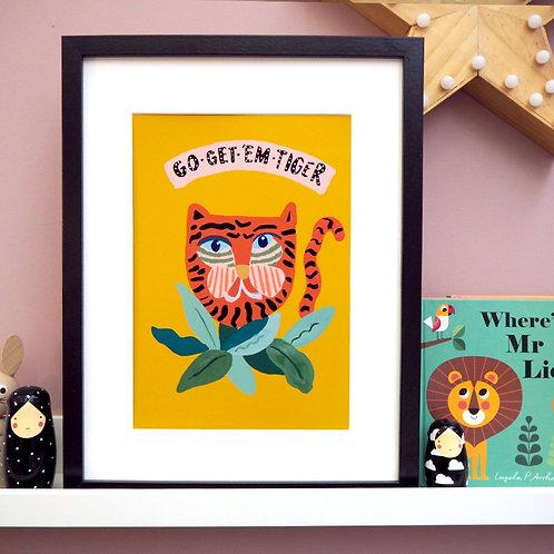 Go Get Em Tiger Print