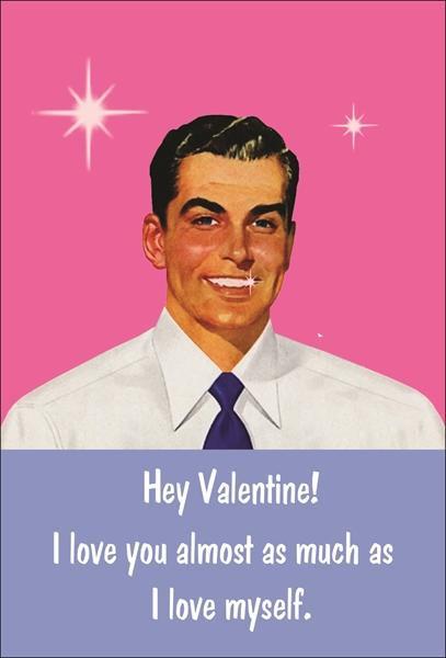 Hey Valentine! Valentines Day Card
