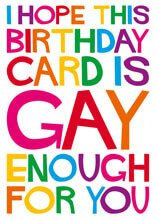 Gay Enough