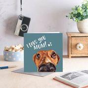 I Love You Mum Greyhound