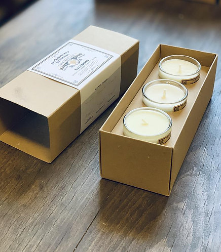 Triple Pack Candle Gift Set