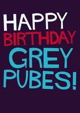 Grey Pubes