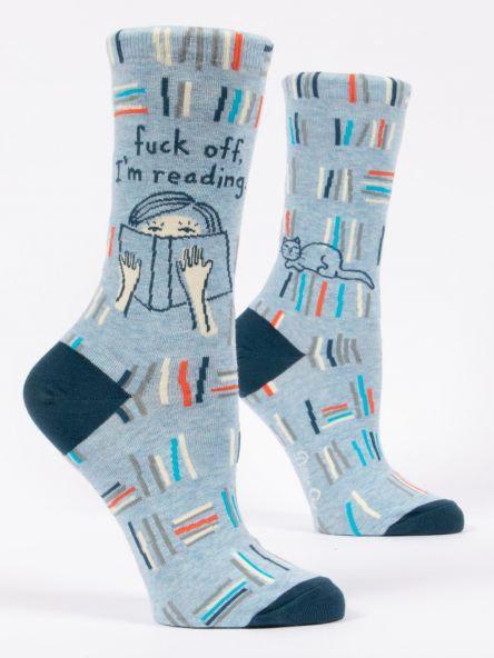Fuck Off I'm Reading Ladies Socks