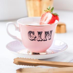 Gin Tea Cup & Saucer