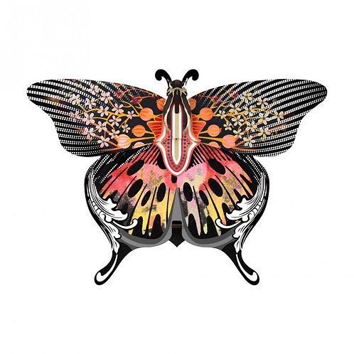 Madama Butterfly Wall Decor