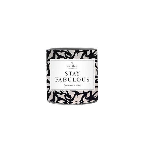 Stay Fabulous Jasmin & Vanilla Candle   Large