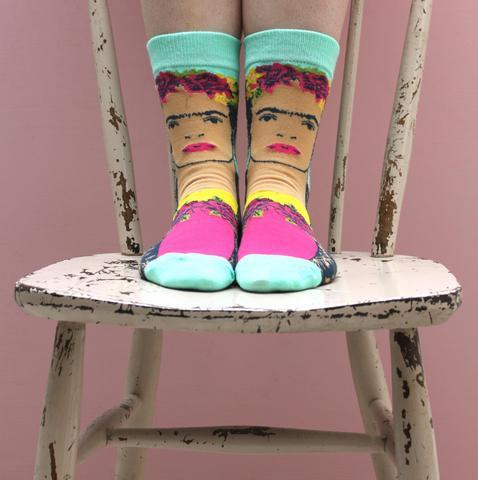 Frida Kahlo Printed Socks