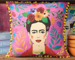 Frida Cushion Pink