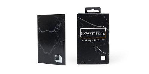Black Marble Effect Power Bank