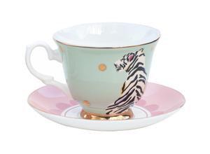 Tiger Teacup & Saucer