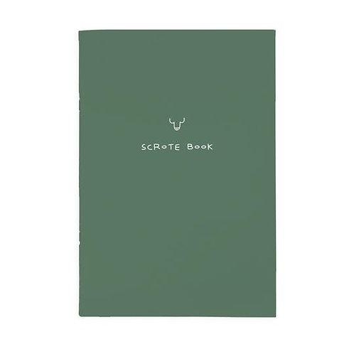 Scrote A4ish Note Book