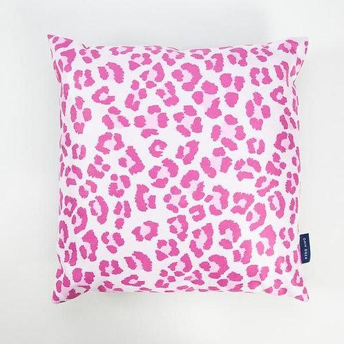 Pink Leopard Cushion