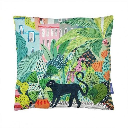 Jungle Panther Cushionc