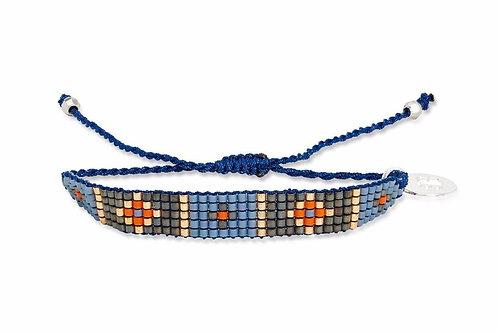 5 row beadedfriendship bracelet