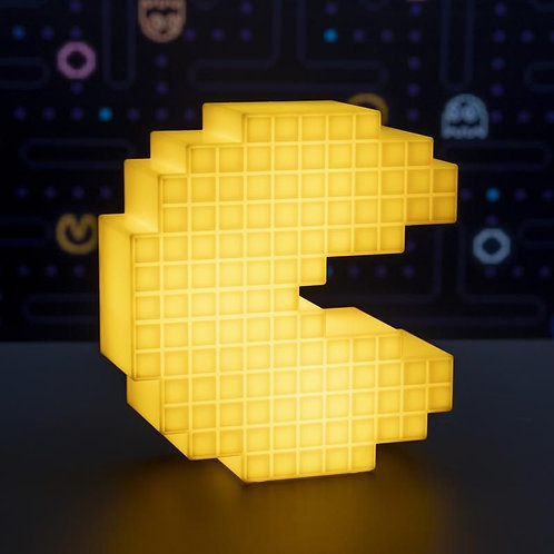 Pac Man Pixelated Light