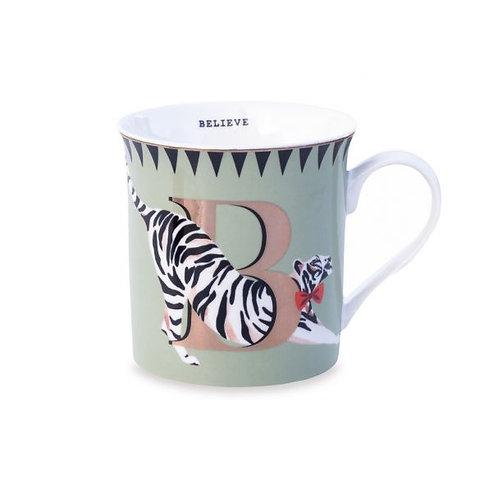 B For Believe Mug
