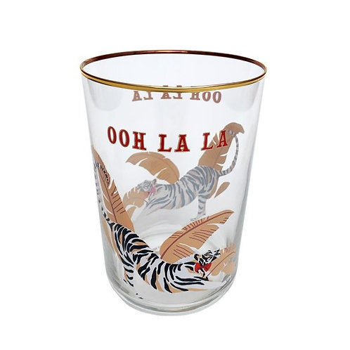 Tiger Hi Ball Glass