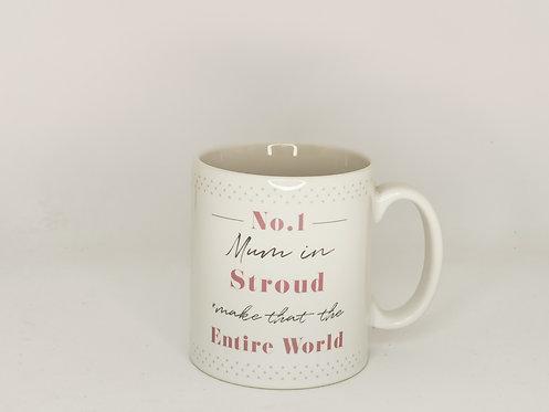 No1 Mum In Stroud Mug